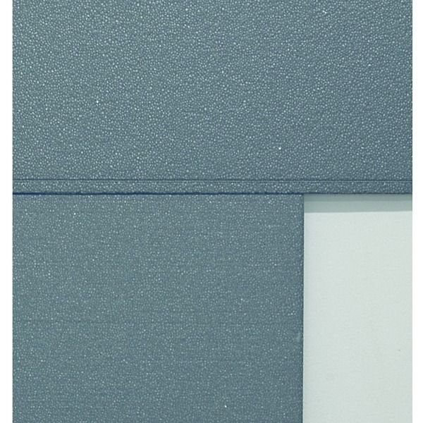 Polystyrene with graphite for thermal insulating system